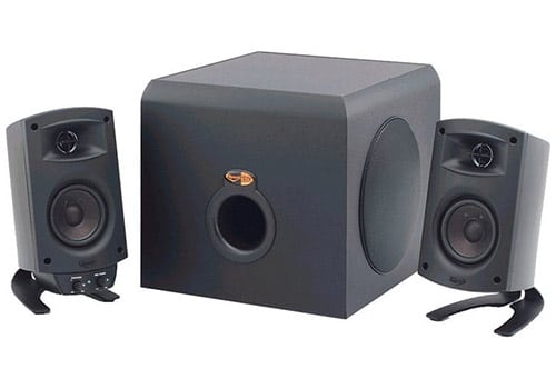 Klipsch ProMedia 2-1 speakers with subwoofer